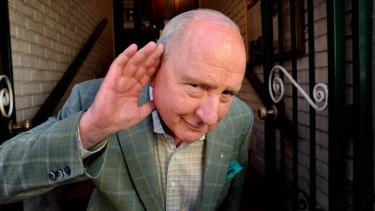 Veteran Sydney broadcaster Alan Jones is, it appears, attempting to listen, but he just doesn't seem to get the message.