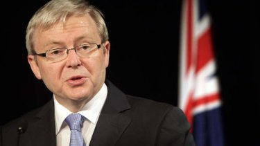 Former prime minister Kevin Rudd has called for an increase in the dole.