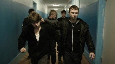 Set in a school for the deaf that serves as a front for organised crime, <i>The Tribe</i> is often shocking.