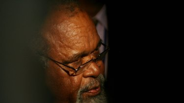 Papua New Guinean MPs are on a collision course with the Supreme Court after they rejected its decision to reinstate Sir Michael Somare (pictured) as prime minister.