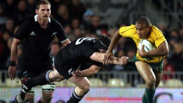 On the edge of glory? The Wallabies will be looking to reclaim the elusive Tri Nations trophy in Brisbane tonight.