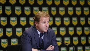 Polarising figure: NRL CEO Dave Smith.