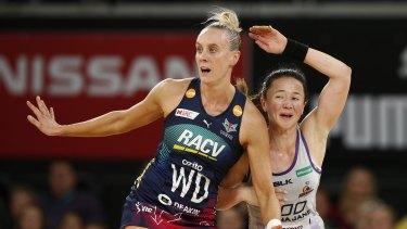 Renae Ingles (left) has added steel to the Vixens' defence.