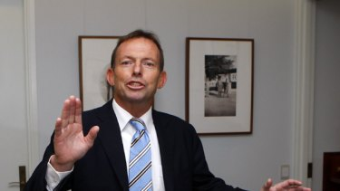 By electing Tony Abbott leader, the Liberal party has chosen to fight on climate change and to risk all on an unpopular cause.