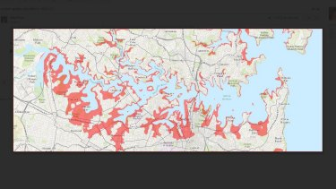 Sydney's harbourside suburbs would be effected by a tsunami. according to tsunamisafe.com.au