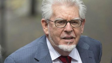 Guilty of sexual assault: Rolf Harris.