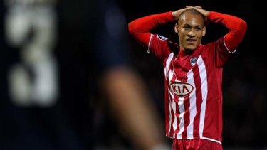 Allergic to grass ... Yoan Gouffran.
