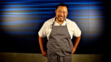 Nothing's sacred … David Chang is bold with flavours and presentation.