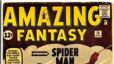 The Amazing Spider-Man, a Stan Lee comic