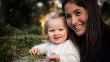 Deana Tynan and her daughter Mia.