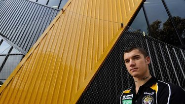 Earning his stripes: Dustin Martin has shown his quality.
