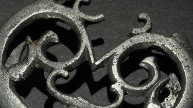Roman relic: A knife case binder.