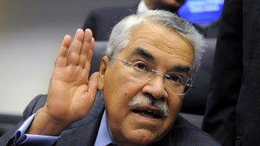 "Saudi Arabia's oil minister, Ali al-Naimi: ""Have you ever seen me worried?"""