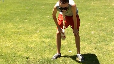Damaging teenage craze spills out on Perth parks