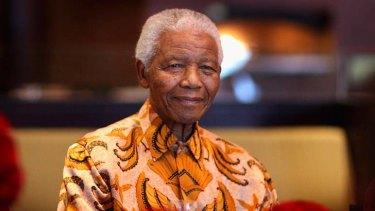Critical condition: Nelson Mandela.