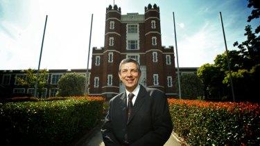 Melbourne High principal Jeremy Ludowyke.