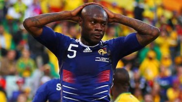 William Gallas ... disappointing World Cup.