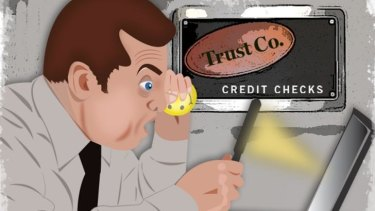 Hard to spot: Finding the free credit report you are entitled to may require a detailed search.