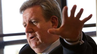"""""""I absolutely would expect there to be a start to work on light rail before the election"""" ... Barry O'Farrell."""