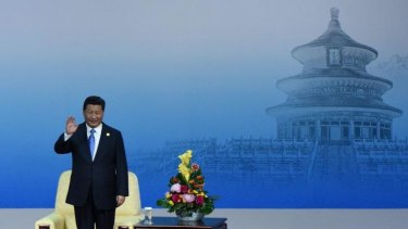 Charm offensive: China's President Xi Jinping has implemented sweeping temporary orders to minimise smog in Beijing during the APEC summit.