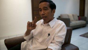 President-elect Joko Widodo in Jakarta.