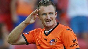 So long Berisha ... the Roar striker is leaving Brisbane.