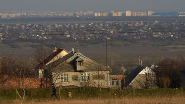 The breakaway state of Transnistria is a largely Russian-speaking region that borders western Ukraine.
