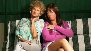 Jane Turner and Gina Riley, aka Kath & Kim.