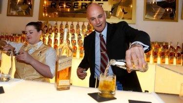 Diageo Australia managing director Tim Salt says Coles' liquor fortunes are on the rise.