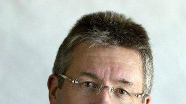 WA stalwart journalist Paul Murray, known as Mooner in media circles.