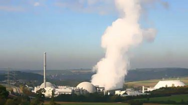 The nuclear power plant in Neckarwestheim near Stuttgart. Germany is embroiled in controversy over a bid by Chancellor Angela Merkel to extend the life of the country's nuclear industry.