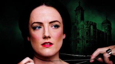 Soprano Jenna Robertson in the lead role as Anne Boleyn.