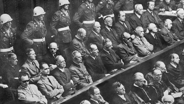 Churchill and Stalin were said to be opposed to the idea of the Nuremberg trials for leading Nazis.