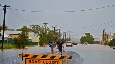Evacuations on the eastern side of Narrabri.