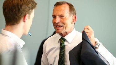 """No surprises"" policy: Prime Minister Tony Abbott."