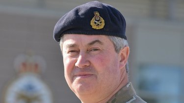 Retired General Sir Richard Barrons during his time as Commander of Joint Forces Command.