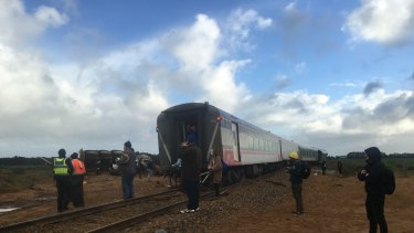 Paramedics said most of the passengers appeared to be in a stable condition.