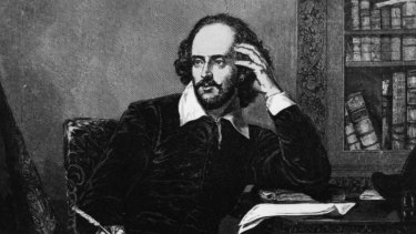 Off his head?: William Shakespeare could well have smoked cannabis to fuel his creativity.