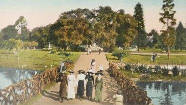 One of the Adelaide Botanic Garden postcards.