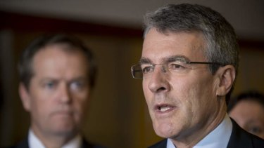 Former attorney-general Mark Dreyfus argued Australia's case against Japanese whaling at The Hague.