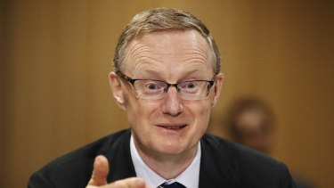 The doctor is in the house: Reserve Bank governor Dr Philip Lowe.