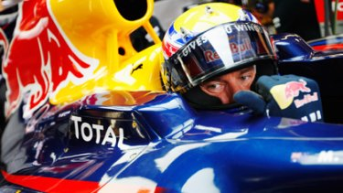 Mark Webber, who had a frustrating race in yesterday's grand prix, also feels hamstrung by Australia's road rules.