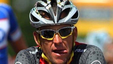 Seven-time Tour de France winner Lance Armstrong.