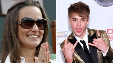 Let the media storm begin ... Pippa Middleton and Justin Bieber are joining forces.