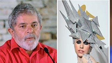 Topping the list ...  Brazil's leader Luiz Inacio Lula da Silva, Lady Gaga, former US president Bill Clinton.