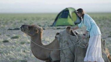 Another picture from Lauren's Gobi Desert trip.