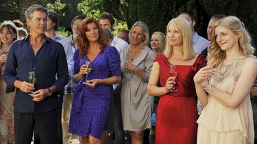 """Wedding guests: from the film """"Love Is All You Need Still"""""""