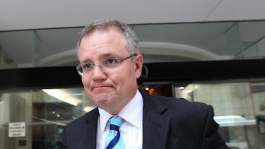 Scott Morrison ... Coalition will never support regional processing centre.