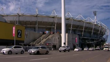 The first AFL Grand Final to be played in the Sunshine State nears as the finishing touches are put on the newly renovated stadium.