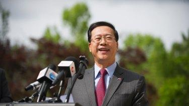China's ambassador to Australia, Ma Zhaoxu.